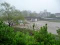 洪水寸前?の広瀬川2
