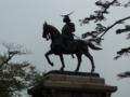 青葉城跡・伊達政宗の像