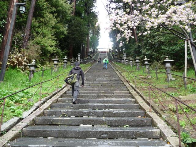 塩釜神社・表参道2
