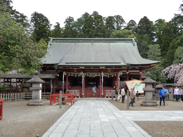 塩釜神社・拝殿その1