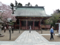 塩釜神社・拝殿その2