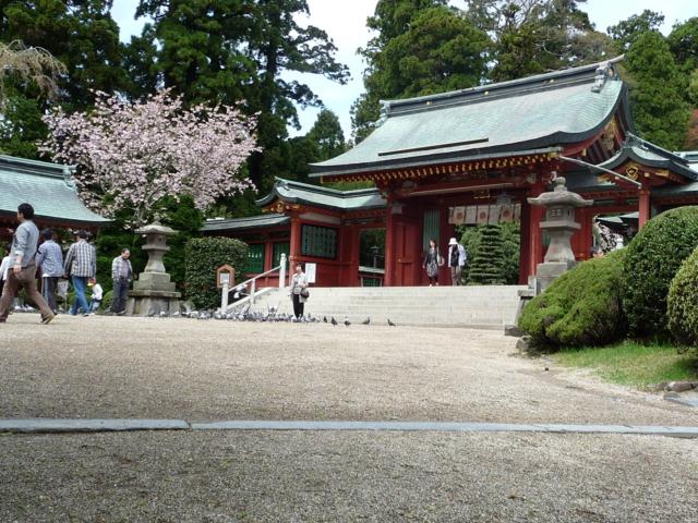 鳩神社・志波彦神社