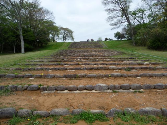 多賀城跡・階段