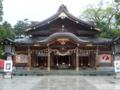 竹駒神社・拝殿