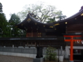 竹駒神社・拝殿の側面