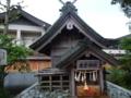 竹駒神社に何故かある出雲神社