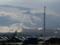 山に立ち上る雲
