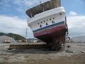乗り上げたままの船3