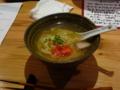 夕食 締めの沖縄そば