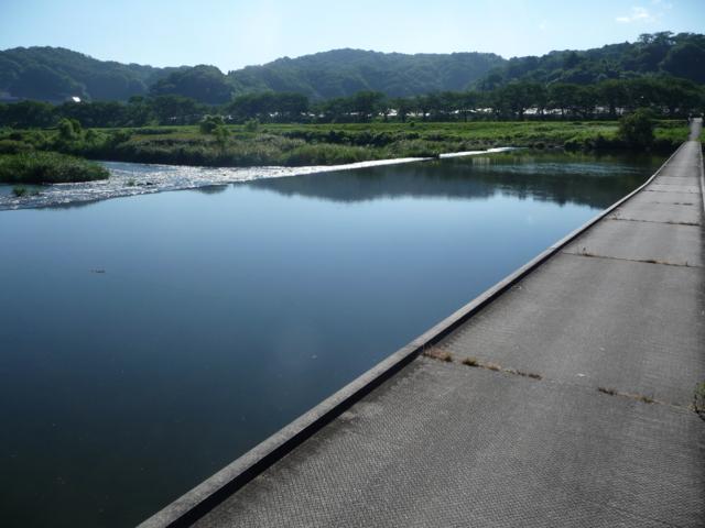 斐伊川の沈下橋2