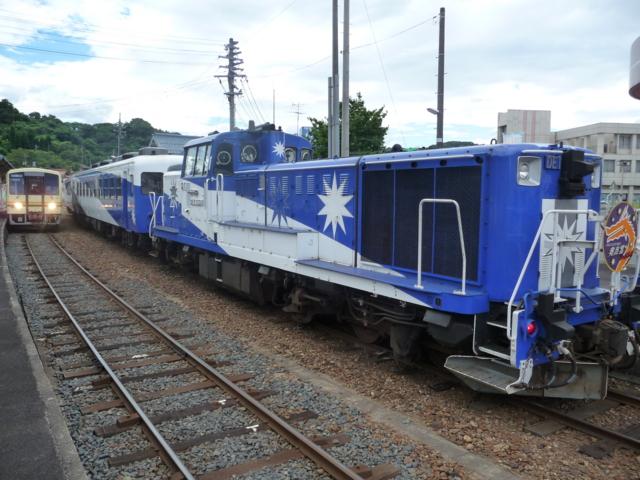 機関車をパチリ