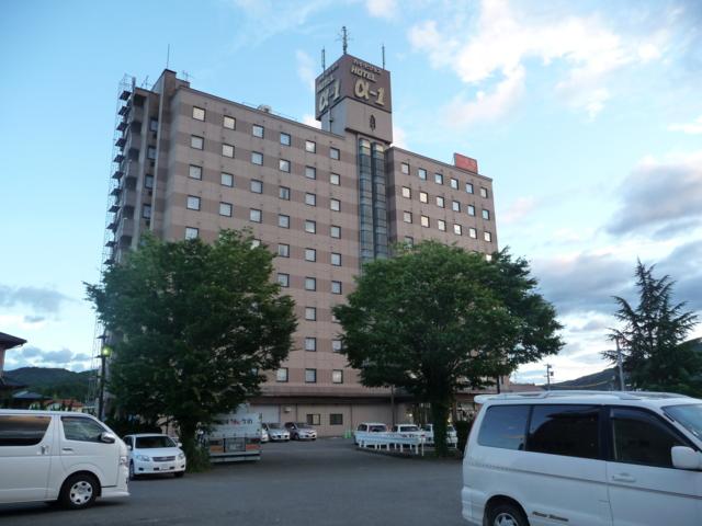 2日目のお宿 ホテルアルファーワン三次