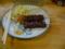 夕食 牛テキ