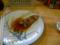 夕食 鶏皮
