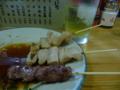 夕食 白肉