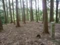 吉田郡山城 姫の丸跡