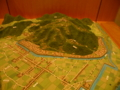 吉田郡山城の模型