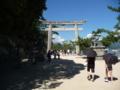 厳島神社の石鳥居