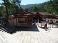 厳島神社入り口付近