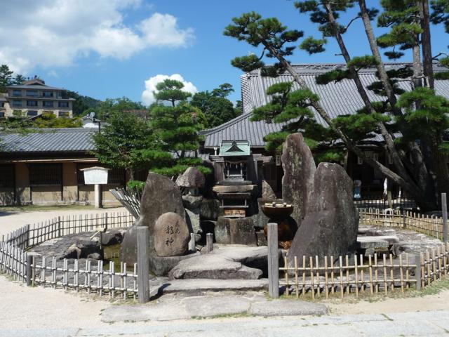 大願寺の龍神岩