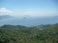 弥山から見た瀬戸内海(東)