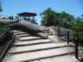 獅子岩駅の展望台