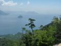 弥山から見た瀬戸内海(東)2