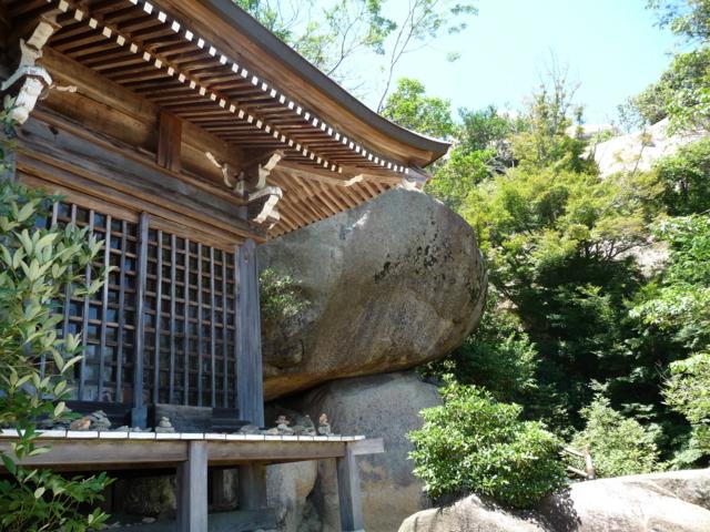 弥山の文殊堂・観音堂