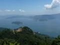 展望台から見た瀬戸内海(北)