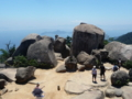 弥山の頂上