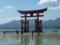 干潮時の厳島神社大鳥居
