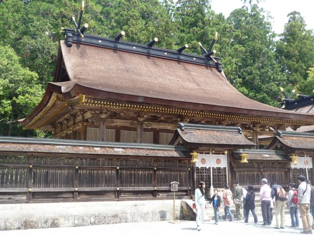熊野本宮の結宮