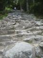 神倉神社の参道はこんなです