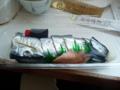 朝食・さんま寿司