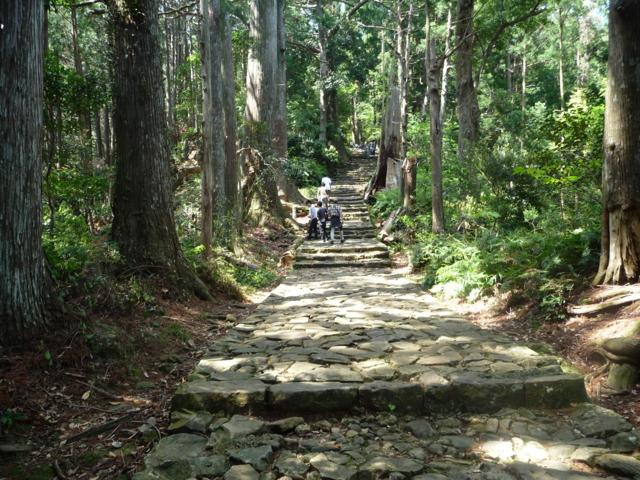 熊野那智への古道4