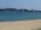 那智駅前の海水浴場