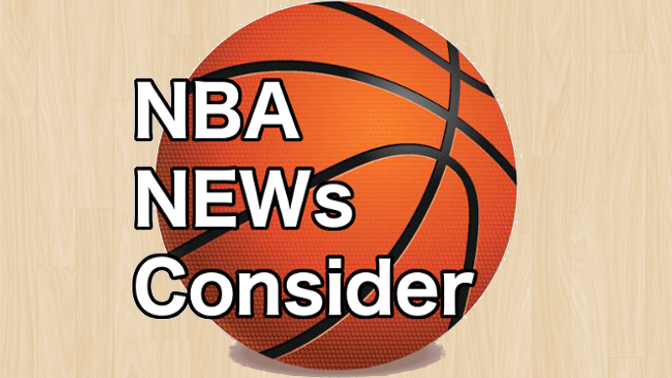 NBA News Consider LOGO