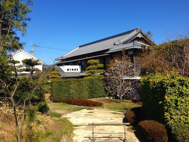 阿波の藍の豪商の家