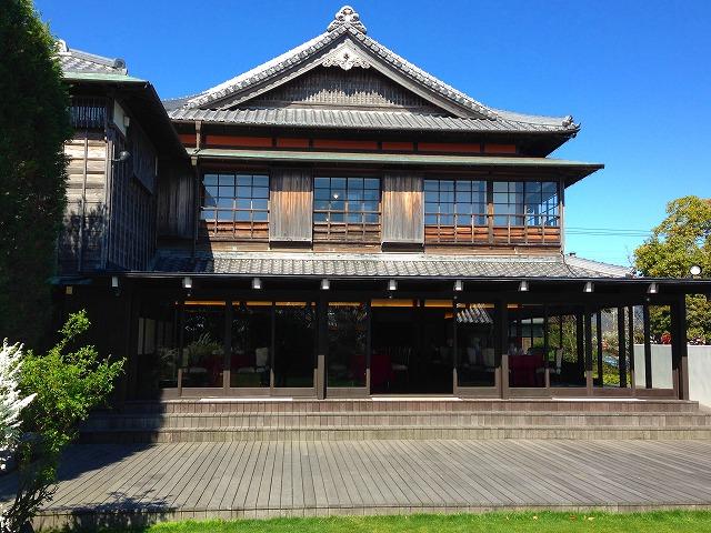 滋賀から移築した武田ゆかりの家