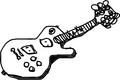 レスポールっぽいギター