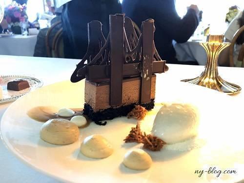 リバーカフェのチョコレートブルックリンブリッジ