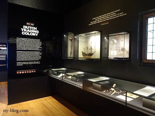 NY歴史の展示
