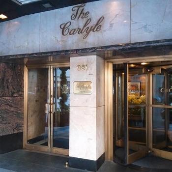 カーライルホテル入口