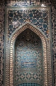 イスラムのモザイクタイル
