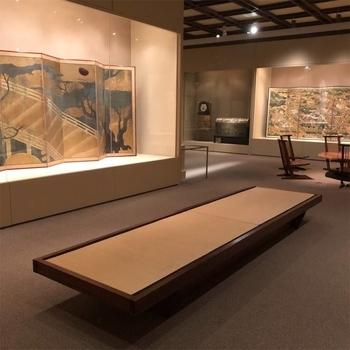 メトロポリタン美術館の畳ベンチ