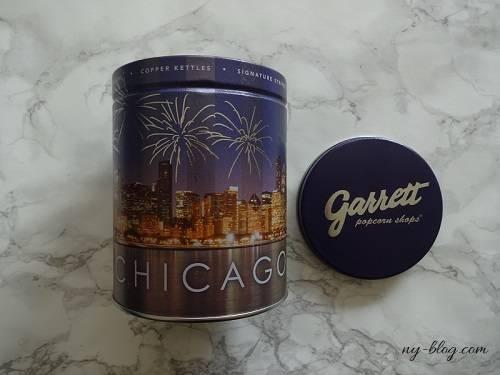 ギャレットポップコーンのシカゴ限定缶