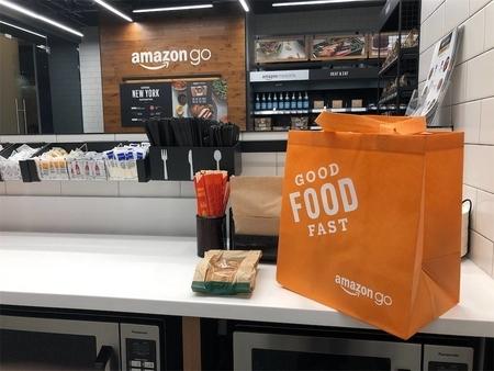 Amazon Go店内