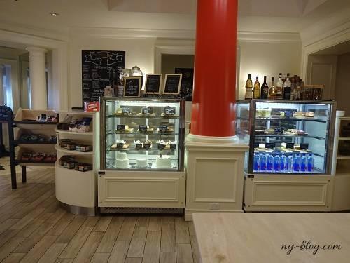 フェアモントサザンプトンのカフェ