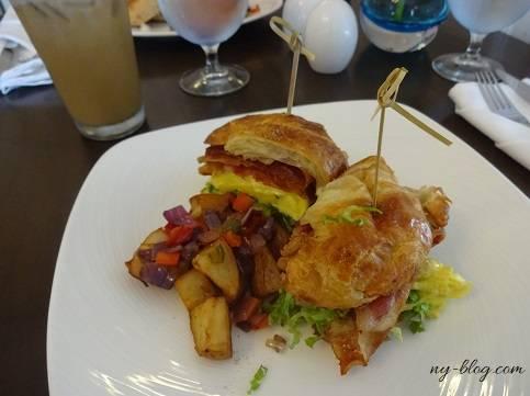 ローズドンホテルのエッグサンドイッチ