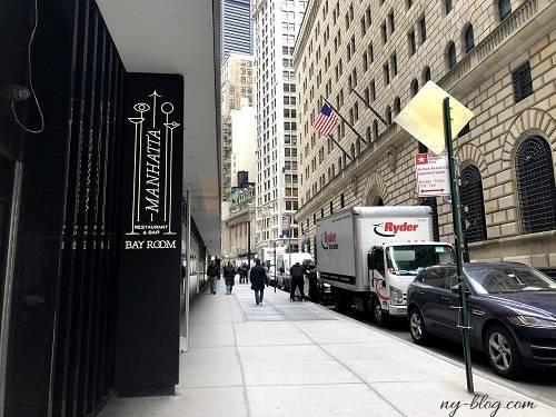 マンハッタ】ニューヨーク高層階の美味しいレストラン - NYでお昼寝